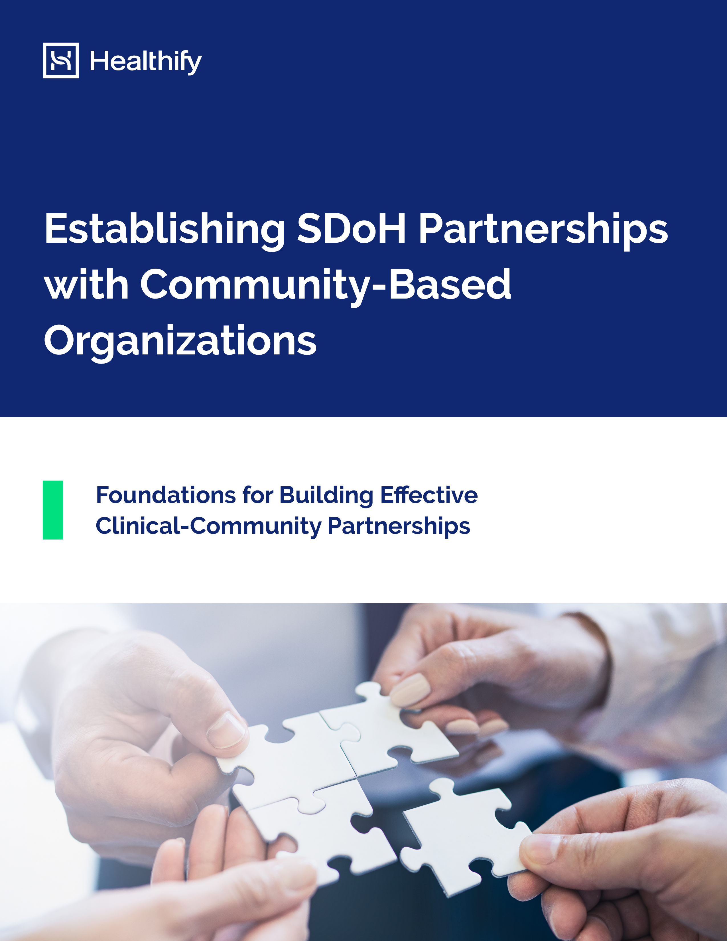 WP - Establishing SDoH Partnerships