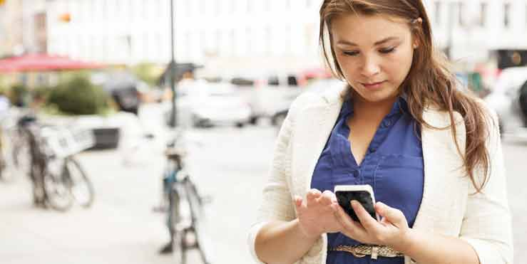 Text messages as health reminders